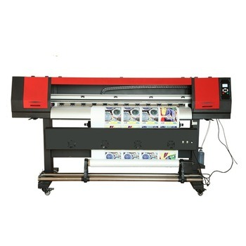 Eco Solvent Digital Printer Outdoors Print on PP Best Printer with Dx5 Head