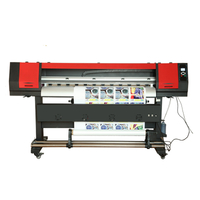 cheap price large format 1.8m digital inkjet Eco Solvent banner Printer price with EPSON DX11 XP600 print head